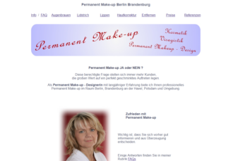 Permanent Make up Brandenburg Havel